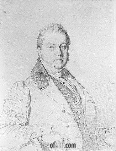 Ingres | Guy-Marie-Emmanuel Marquis Legentil de Paroy, 1833
