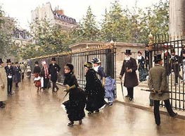At the Madeleine, Undated by Jean Beraud | Painting Reproduction