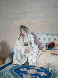 Portrait of Mary Gunning Countess of Coventry in Turkish Costume | Jean Etienne Liotard | outdated