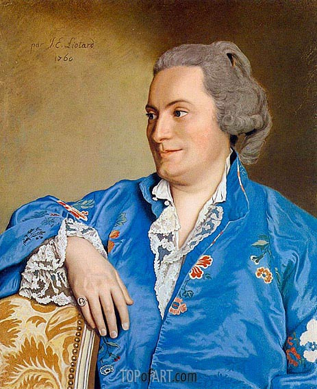 Portrait of Isaac-Louis de Thellusson, 1760 | Jean Etienne Liotard | Painting Reproduction
