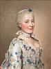Portrait of Marie Josephe van Saksen dauphine van Frankrijk | Jean Etienne Liotard