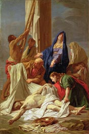 The Descent from the Cross | Jean-Baptiste Jouvenet | Painting Reproduction