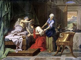 Isaac Blessing Jacob | Jean-Baptiste Jouvenet | Painting Reproduction