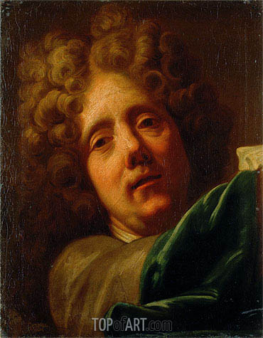 Self Portrait, Undated | Jean-Baptiste Jouvenet | Painting Reproduction