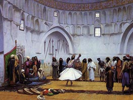 Whirling Dervishes, 1899 by Gerome | Painting Reproduction