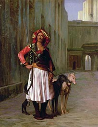 Arnaut of Cairo, 1871 by Gerome | Painting Reproduction