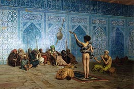 The Snake Charmer, c.1870 by Gerome | Painting Reproduction