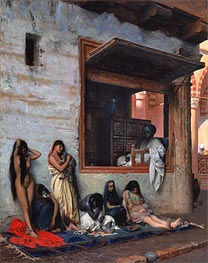The Slave Market, 1871 by Gerome | Painting Reproduction