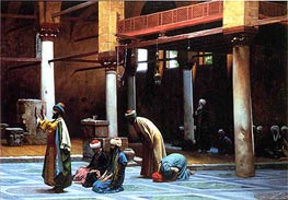 Prayer in a Mosque | Gerome | outdated