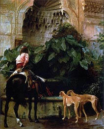 Home from the Hunt, 1876 by Gerome | Painting Reproduction