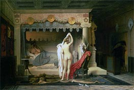 King Candaules, 1859 by Gerome | Painting Reproduction