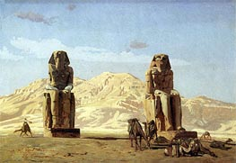 Memnon and Sesostris, 1856 by Gerome | Painting Reproduction