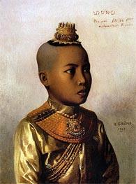 Pho Xai (Nai Sombun), 1861 by Gerome | Painting Reproduction