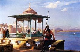 The Harem in a Kiosk, 1870 by Gerome | Painting Reproduction
