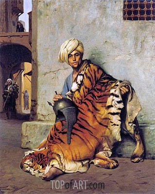 Pelt Merchant of Cairo, 1880 | Gerome | Gemälde Reproduktion