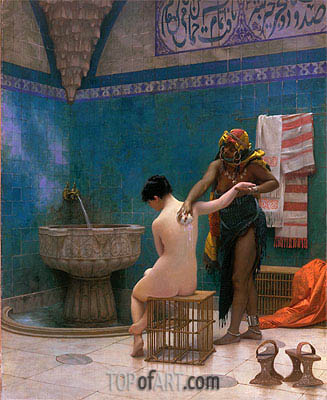 Gerome | Moorish Bath, c.1880/85