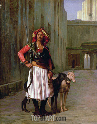 Arnaut of Cairo, 1871 | Gerome| Painting Reproduction
