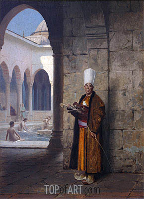 The Harem Guard, undated | Gerome| Painting Reproduction