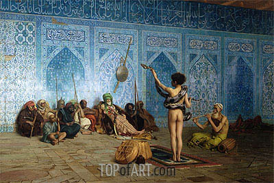The Snake Charmer, c.1870 | Gerome| Painting Reproduction
