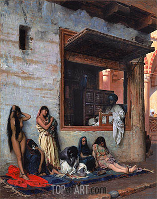 The Slave Market, 1871 | Gerome| Painting Reproduction