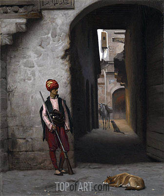 The Guard, 1889 | Gerome| Painting Reproduction