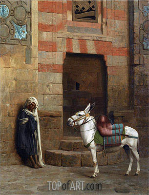 Egyptian Donkey, undated | Gerome | Painting Reproduction