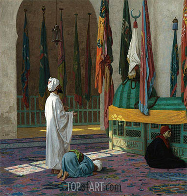 The Tomb of Sultan, undated | Gerome | Painting Reproduction