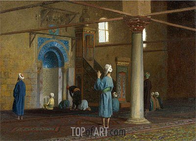 Gerome | Prayer in the Mosque, undated