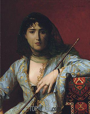 Gerome | Veiled Circassian Beauty, 1876