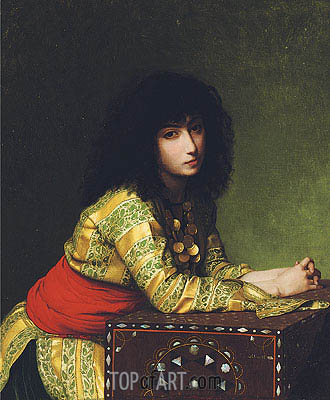 Egyptian Girl, 1877 | Gerome| Gemälde Reproduktion