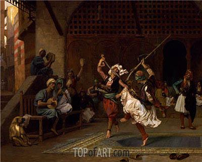 Gerome | The Pyrrhic Dance, 1885