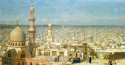 Gerome | View of Cairo, 1891