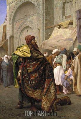 Gerome | The Carpet Merchant of Cairo, 1869
