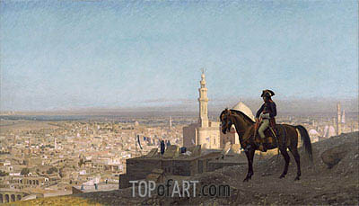 Napoleon Bonaparte in Cairo, 1886 | Gerome | Painting Reproduction