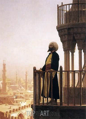 Le Muezzin (The Call to Prayer), 1866 | Gerome | Painting Reproduction