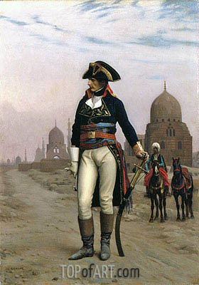 Napoleon in Egypt, c.1867/68 | Gerome | Painting Reproduction