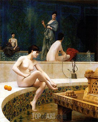 Gerome | Bathers of the Harem, 1901