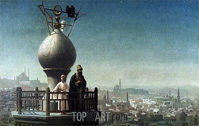 Gerome | Call to Prayer Cairo, 1880