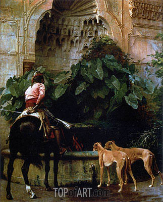 Gerome | Home from the Hunt, 1876