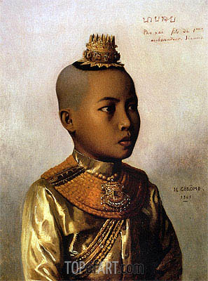 Pho Xai (Nai Sombun), 1861 | Gerome | Painting Reproduction