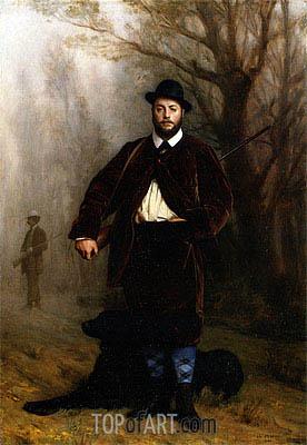 Gerome | Portrait of Edouard Delessert, 1864