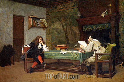 Gerome | A Collaboration Corneille and Moliere, 1873