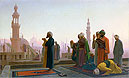Prayer in Cairo (Prayer on the Rooftops of Cairo) | Jean Leon Gerome