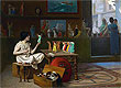 The Antique Pottery Painter: Sculpturæ vitam insufflat pictura | Jean Leon Gerome
