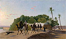 Leaving the Oasis | Jean Leon Gerome