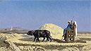 Egyptian Grain-Cutters | Jean Leon Gerome