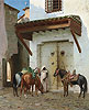 Horses Kept by a Slave | Jean Leon Gerome