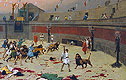 The Retreating Lions | Jean Leon Gerome