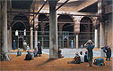Interior of a Mosque | Jean Leon Gerome