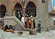 Leaving the Mosque | Jean Leon Gerome